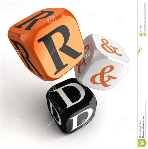 r d r d orange black dice blocks royalty free stock images