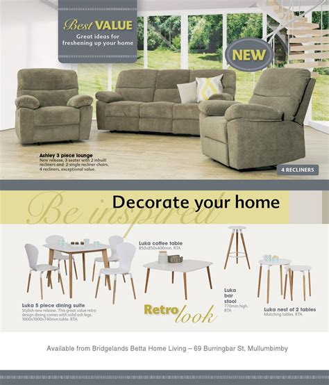 bridglands betta home living furniture november 2015 by