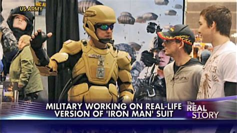 military beast iron man suits military
