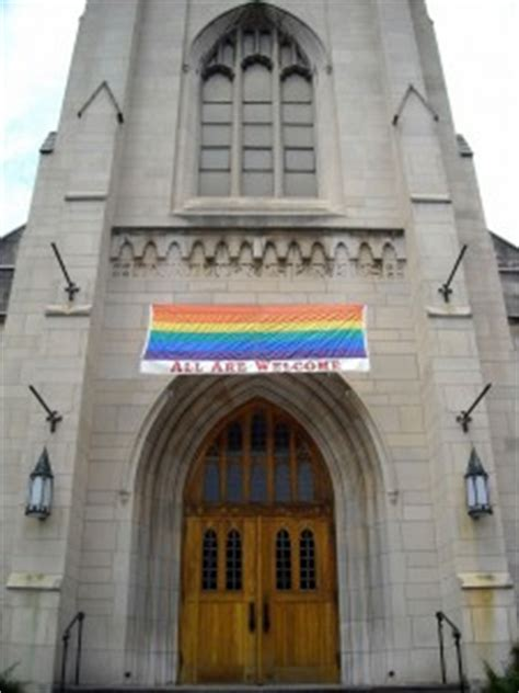 what churches accept homosexuality