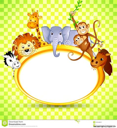 baby shower zoo animals clip wallpapers gallery
