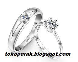 Cincin Kawin Nikah Tunangan Dhenis Silver 16 jual cincin cincin perak cincin nikah cincin pernikahan