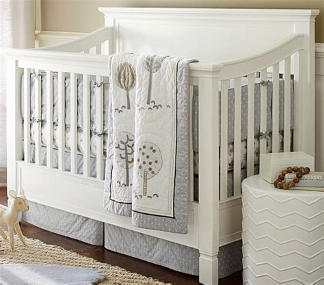 woodlands nursery bedding set pottery barn