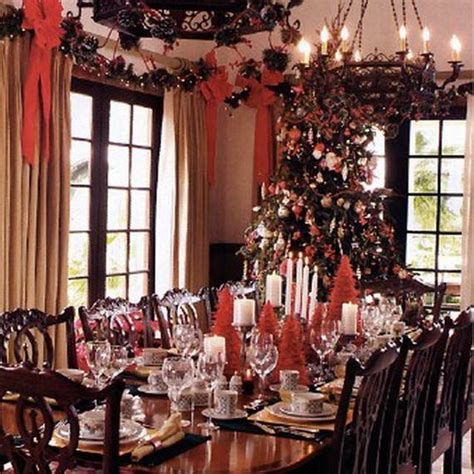 holiday home interiors traditional french christmas decorations style ideas