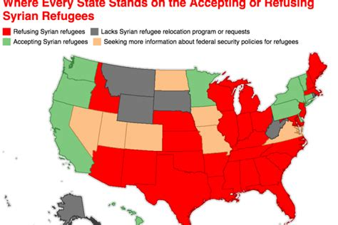map of us states not accepting syrian refugees u s catholic bishops raking in millions in tax dollars to