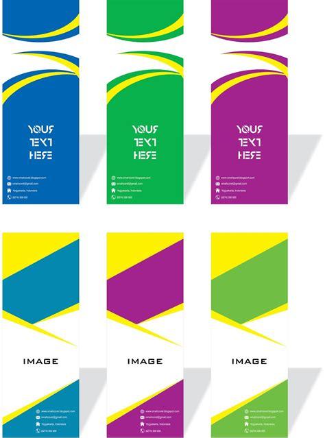desain template  baner keren format cdr ucorel