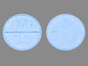 what color is percocet m 30 pill images blue