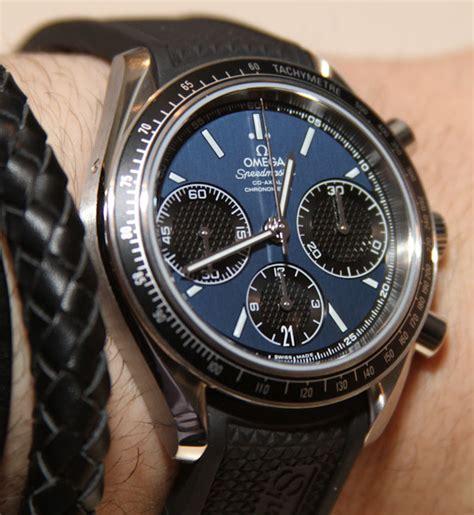 Omega Speedmaster Racing Watches Hands On   aBlogtoWatch