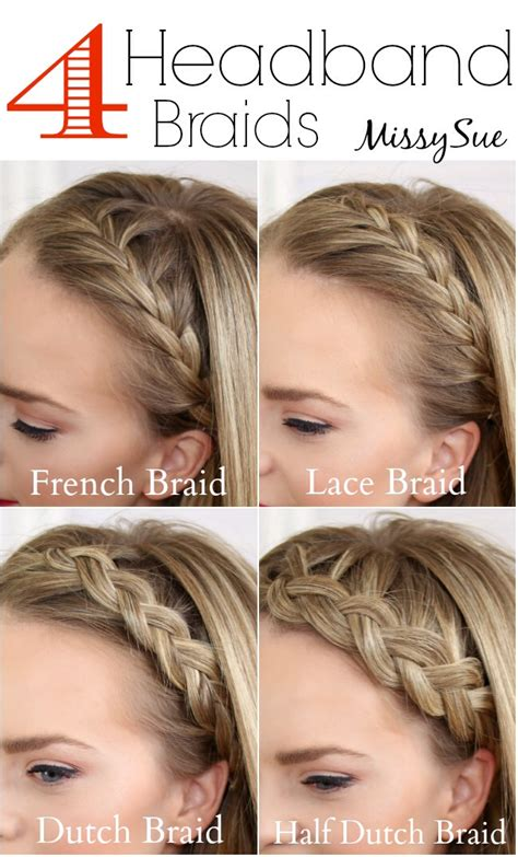 different braid step by step musely