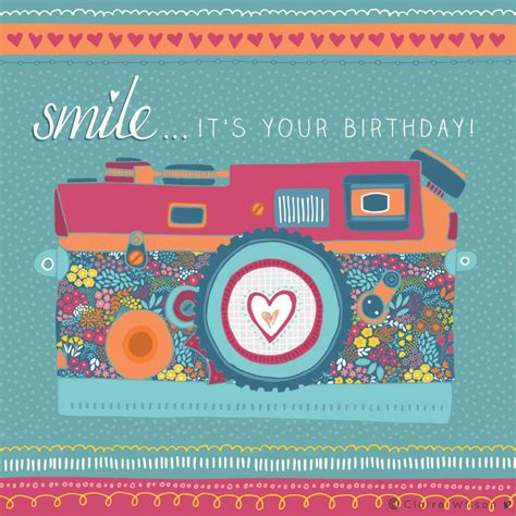 for your birthday smile it s your birthday wilson designs