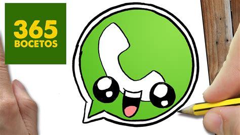 imagenes de estados para whatsapp kawaii como dibujar logo whatsapp kawaii paso a paso dibujos