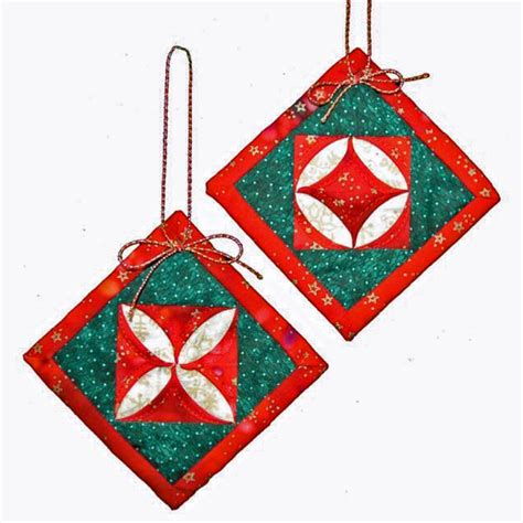 patterns for fabric christmas tree decorations quilted christmas ornament patterns deck your tree