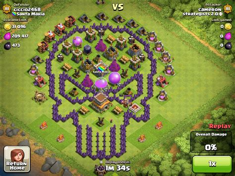 layout coc th 8 keren kumpulan base keren clash of clans th 7 kalaolaotm