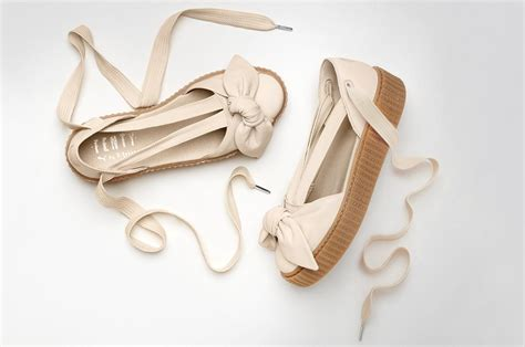 Rihanna Bow Crepers White and rihanna officially debut new bow creeper sandal