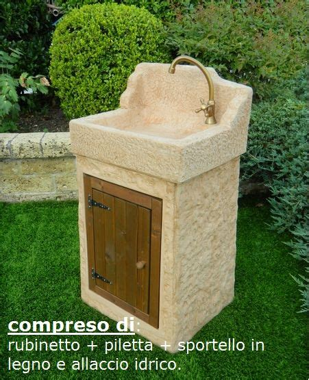 lavello giardino lavelli da giardino nonno 540 aq8300roktab pmc