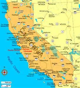 California Images Swisseduc Literary Maps Usa