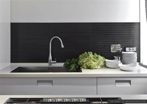 modern backsplash for kitchen modern kitchen backsplash ideas black gray tiles