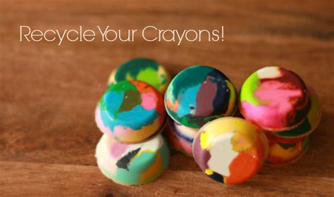 Diy Recycled Home Decor get coloring with recycled chunky crayons make and takes