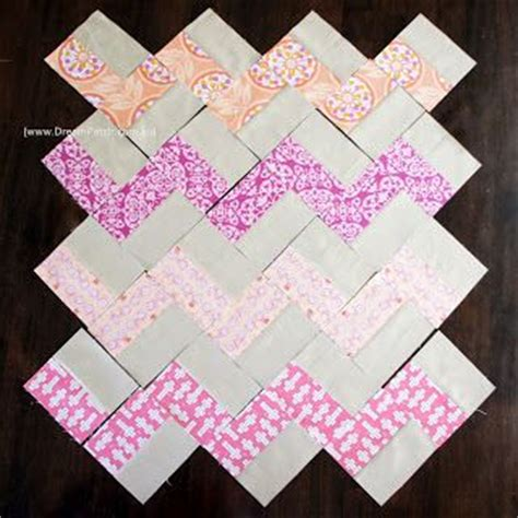 Chevron Quilt Pattern No Triangles by Dreatch Chevron Pattern With No Triangles A Free