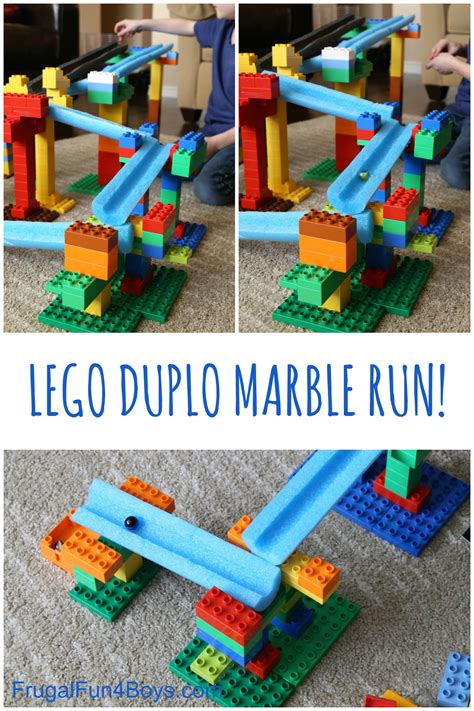 lego challenges for children stem building challenge for lego duplo and pool