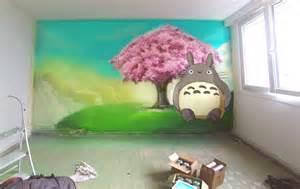 Dragon Wall Mural manga decograffik deco graff bureaux entreprise deco