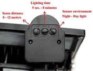 outdoor security light settings 10w seor led flood lights smooth lighting tech co ltd