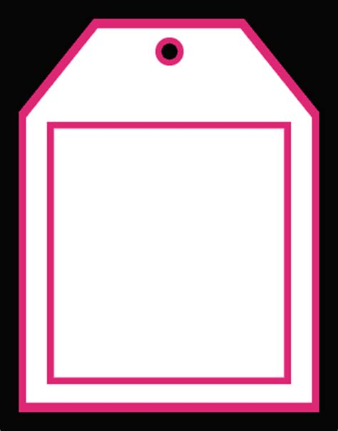 bag tag template part 2