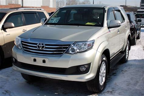 Toyota Pics 2012 Toyota Fortuner Photos 2 7 Gasoline Automatic For Sale
