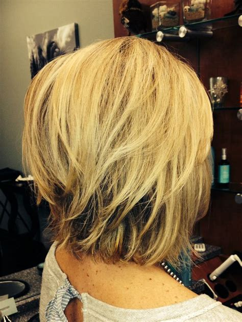 how to get an edgy stacked bob edgy blonde bob by debi s hair pinterest bobs