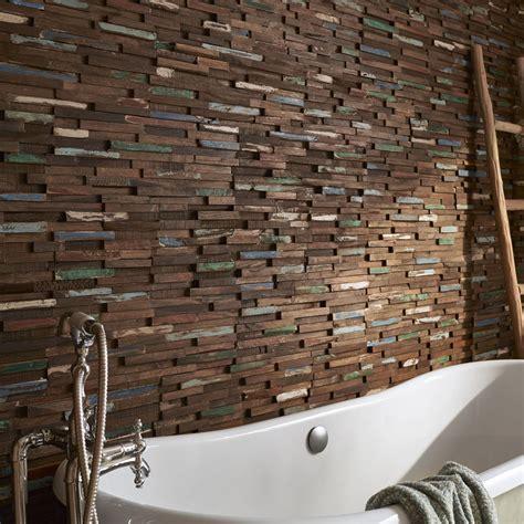 plaquette de parement bois recycl 233 gipsy leroy merlin