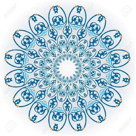 13906275 vector of islamic flower pattern on white stock is music prohibited in islam belief and islam