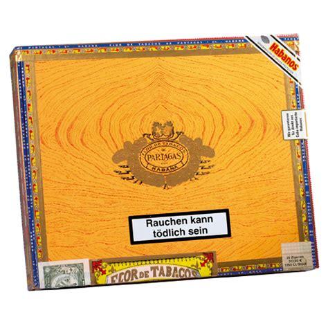 Partagas Aristocrats Box 25 Cerutu Kuba partagas aristocrats hacico hamburger cigarren contor