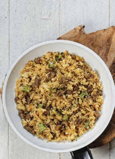 cara membuat nasi goreng oat banana oat