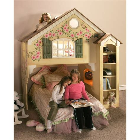 Doll House Bed by Doll House Loft Bed Plans Kid S Room
