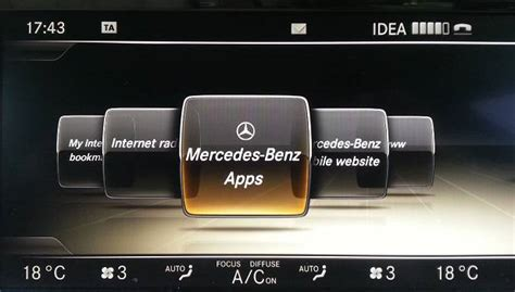 mercedes benz apps  internet connectivity