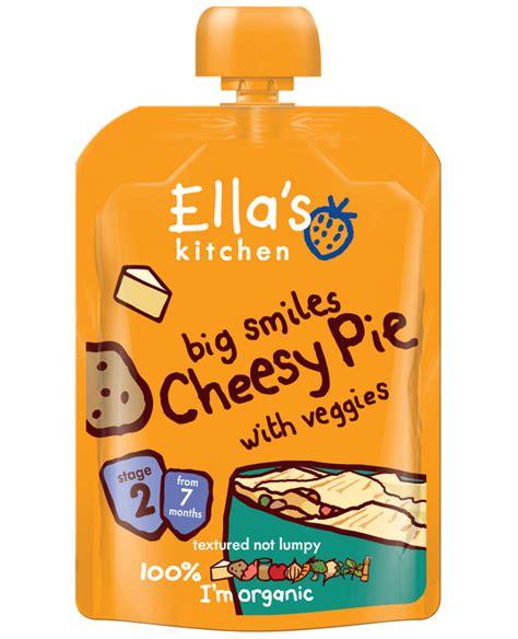 Ella S Kitchen by Ella S Kitchen Big Smiles Cheesy Pie 130g Ella S Kitchen