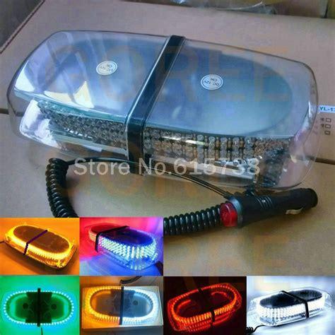 emergency vehicle light colors high power 240 led car roof flashing strobe beacon warning
