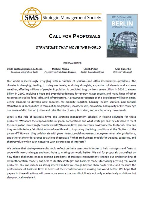 Call For Workshop Proposals Template Tips Exles Sle Paper For Conference
