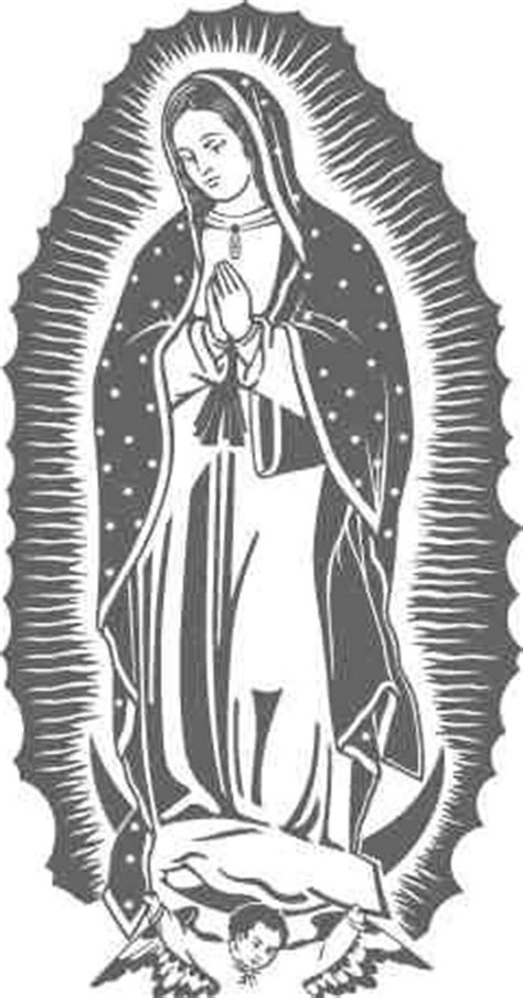 imagenes virgen de guadalupe en blanco y negro best 25 virgen animada ideas on pinterest virgen de