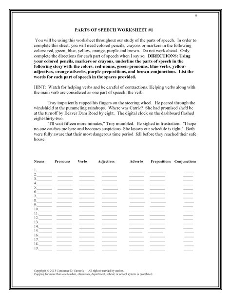 capitalization worksheets high school pdf lesson plans for high school grammar grammar worksheets for middle school the best