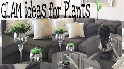 Glam Home Decor by Glam Home Decor Plant Glam Simple Ideas For Plants
