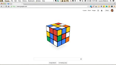 doodle rubik cube celebrates the 40th birthday of the rubik s cube