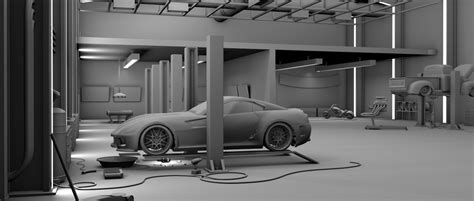 3d garage garage 3d modeling studio project 1 by bewsii on