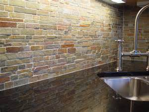 natural stone kitchen backsplash for stacked contemporary