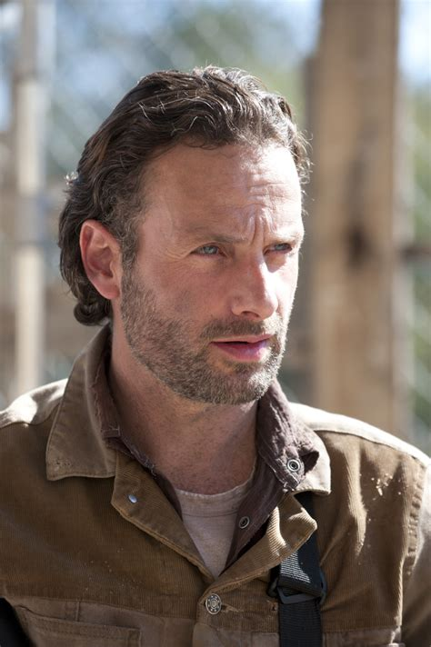 rick grimes hairstyle the walking dead season 3 cast photos exclusive