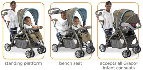 graco room for 2 stroller graco roomfor2 stand and ride classic connect stroller metropolis