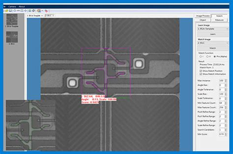 pattern matching vision assistant machine vision system for factory automation visionatics