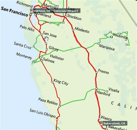 amtrak california station map amtrak california map