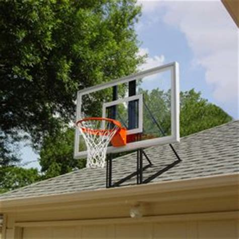 Basketball Hoops That Attach To Garage by Basketball Hoop Basketball And Garage On