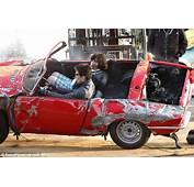 Ben Stiller Wrecks A Classic Car For Crash Scene On Set Of
